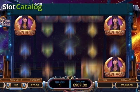 Sticky Wilds. Cazino Cosmos (Video Slot from Yggdrasil)