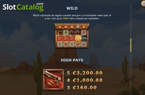 Paytable 1. The One Armed Bandit (Video Slots from Yggdrasil)