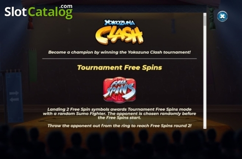 Features 1. Yokozuna Clash (Video Slots from Yggdrasil)