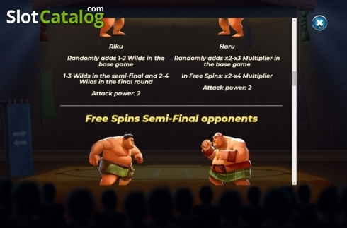 Features 4. Yokozuna Clash (Video Slots from Yggdrasil)