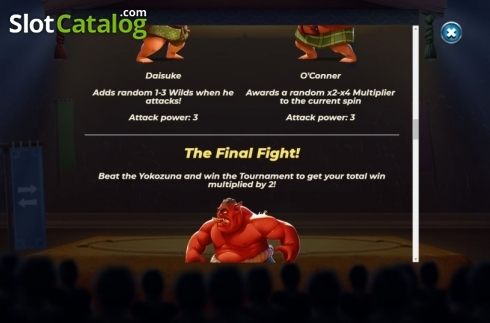 Features 5. Yokozuna Clash (Video Slots from Yggdrasil)