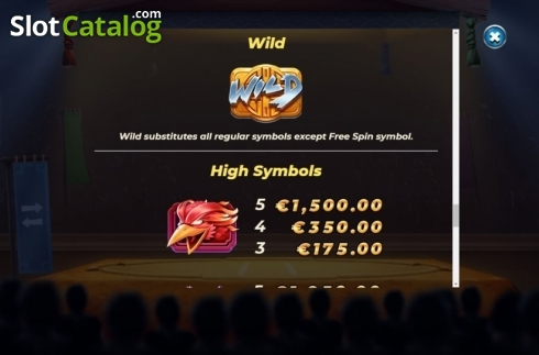 Paytable 1. Yokozuna Clash (Video Slots from Yggdrasil)