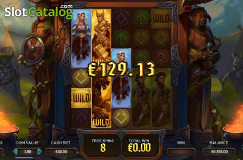 Free Spins 2. Age of Asgard (Video Slots from Yggdrasil)