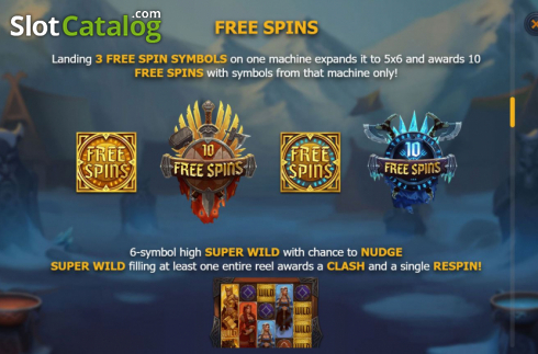 Features 4. Age of Asgard (Video Slots from Yggdrasil)