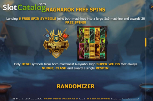 Features 5. Age of Asgard (Video Slots from Yggdrasil)