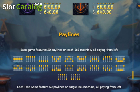 Paylines 1. Age of Asgard (Video Slots from Yggdrasil)