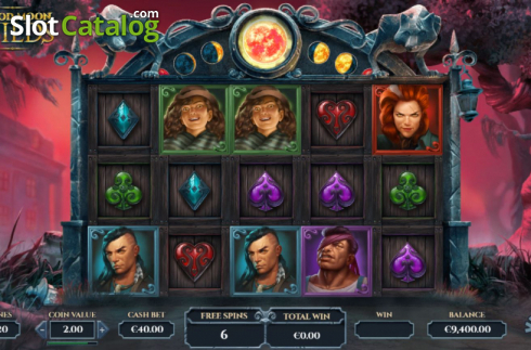 Free Spins 2. Blood Moon Wilds (Video Slots from Yggdrasil)