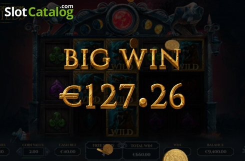 Big Win. Blood Moon Wilds (Video Slots from Yggdrasil)