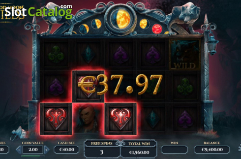 Free Spins 3. Blood Moon Wilds (Video Slots from Yggdrasil)