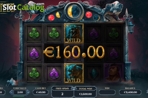 Free Spins 4. Blood Moon Wilds (Video Slots from Yggdrasil)