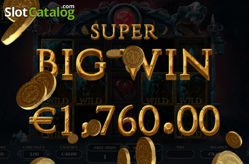 Super Big Win. Blood Moon Wilds (Video Slots from Yggdrasil)