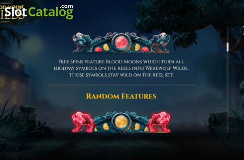 Features 3. Blood Moon Wilds (Video Slots from Yggdrasil)
