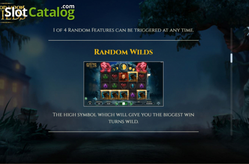 Features 4. Blood Moon Wilds (Video Slots from Yggdrasil)