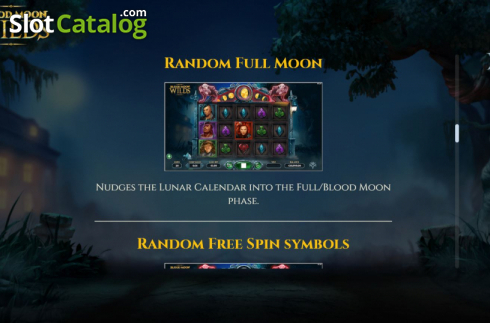 Features 5. Blood Moon Wilds (Video Slots from Yggdrasil)