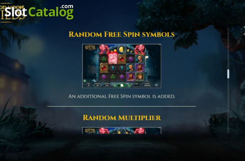 Features 6. Blood Moon Wilds (Video Slots from Yggdrasil)