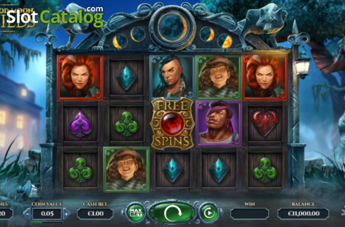 Reel Screen. Blood Moon Wilds (Video Slots from Yggdrasil)
