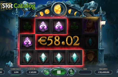 Win Screen 1. Blood Moon Wilds (Video Slots from Yggdrasil)