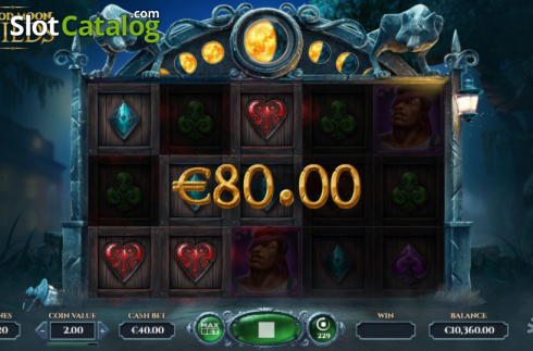 Win Screen 2. Blood Moon Wilds (Video Slots from Yggdrasil)