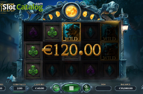 Win Screen 3. Blood Moon Wilds (Video Slots from Yggdrasil)