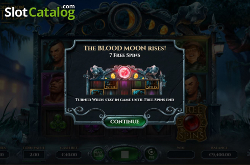 Free Spins 1. Blood Moon Wilds (Video Slots from Yggdrasil)