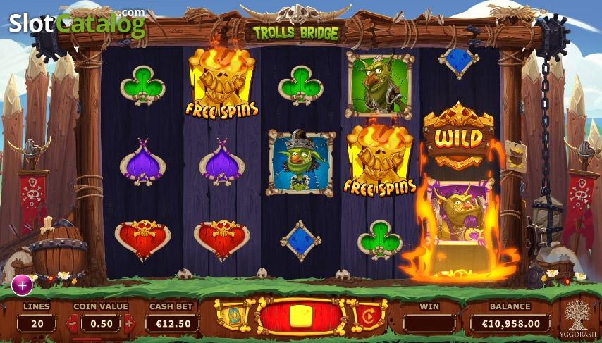 Spiele Trolls Bridge - Video Slots Online