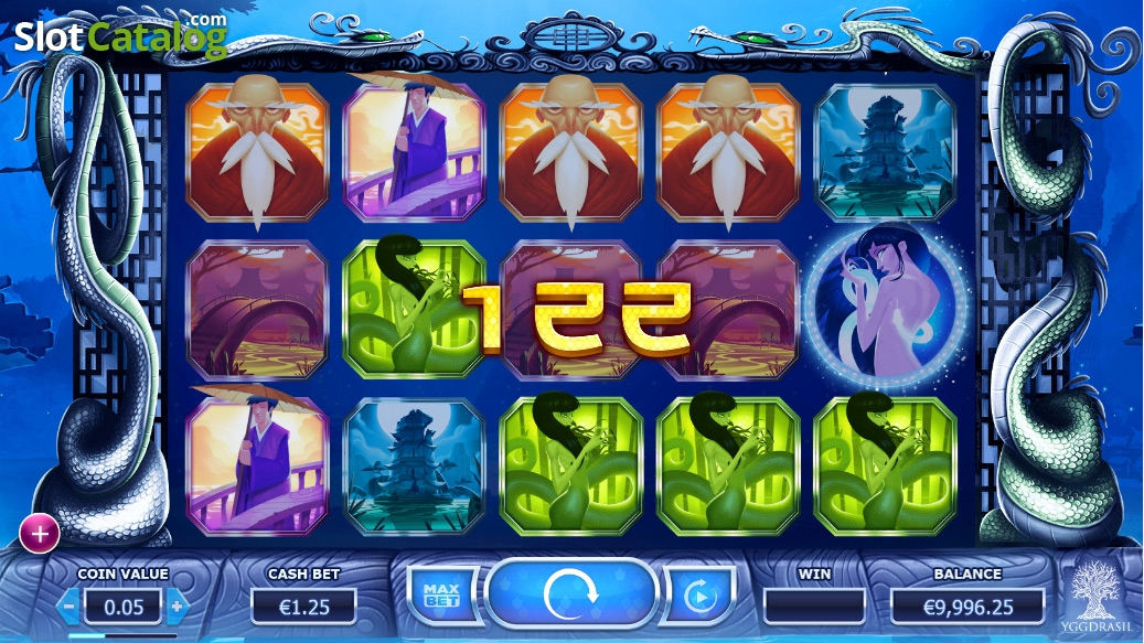 Legend of the White Snake Lady Slots - Play for Free Now