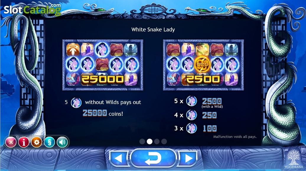 Legend of the White Snake Lady Yggdrasil - Mobil6000