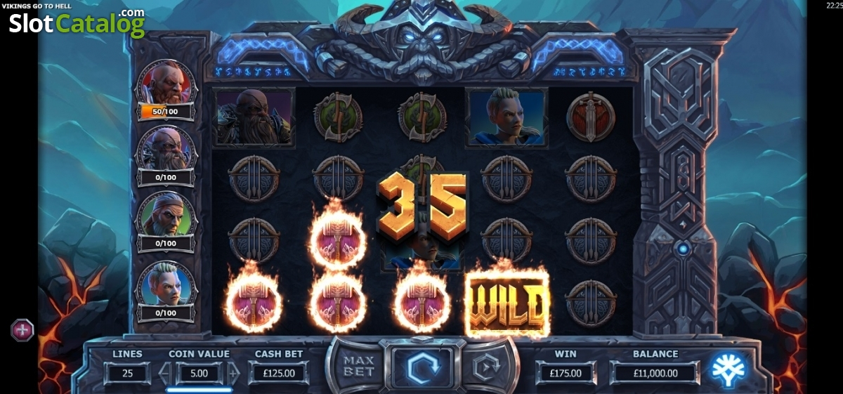 Spiele Vikings Go To Hell - Video Slots Online
