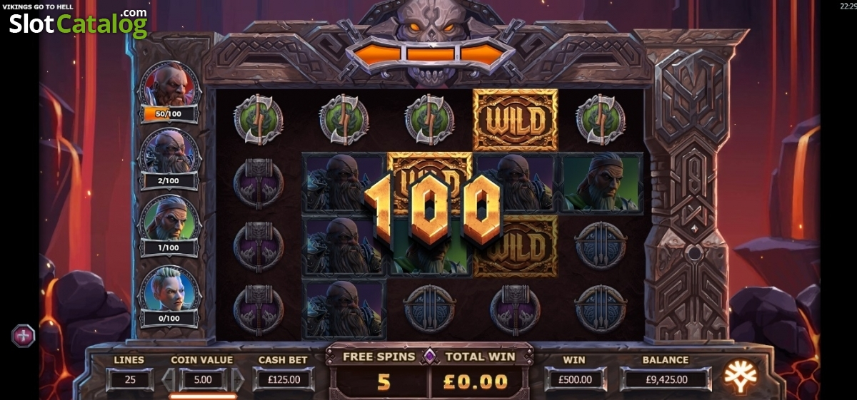 vikings go to hell casino