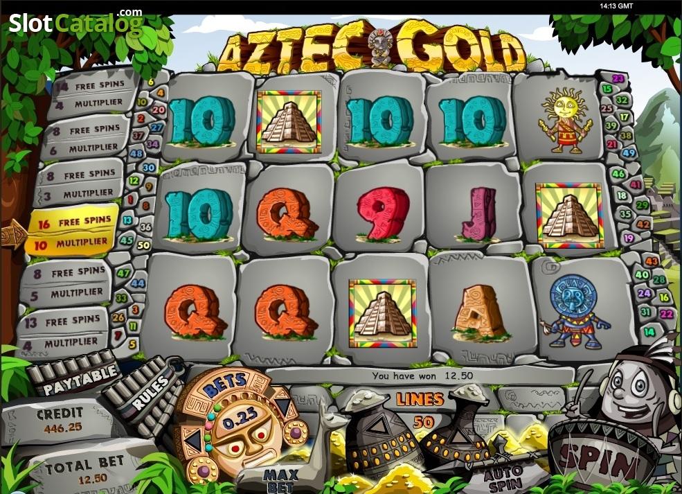 Aztec gold бесплатно