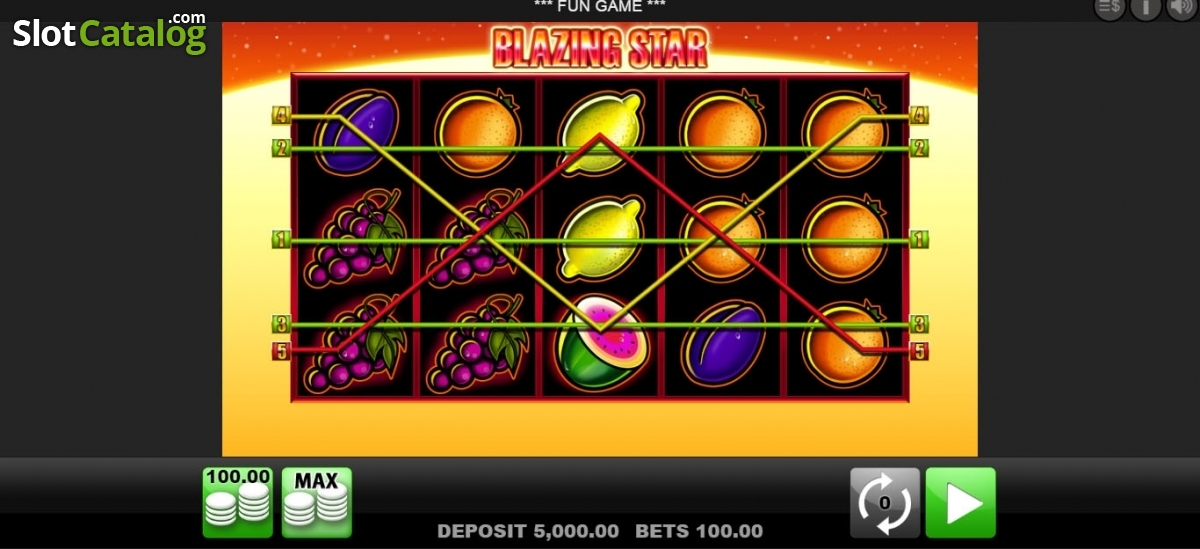 casino blazing star
