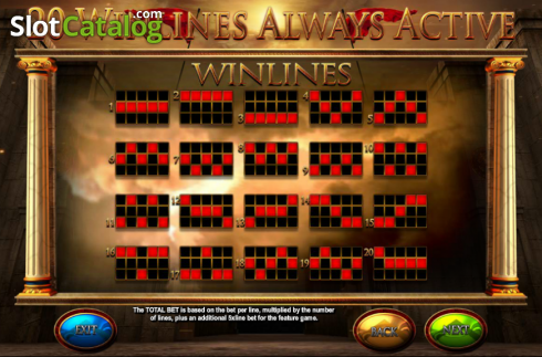 Screen6. Fortunes of Sparta (Video Slot from Blueprint)