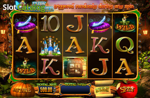 Screen10. Wish Upon a Jackpot (Video Slot from Blueprint)