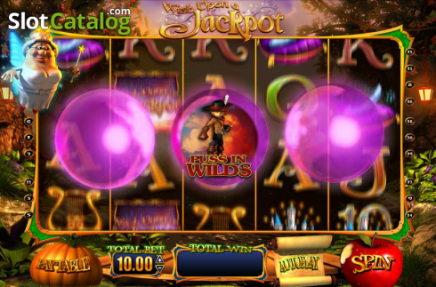Screen12. Wish Upon a Jackpot (Video Slot from Blueprint)