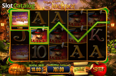 Screen13. Wish Upon a Jackpot (Video Slot from Blueprint)