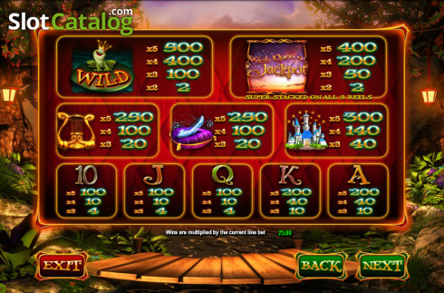 Screen3. Wish Upon a Jackpot (Video Slot from Blueprint)
