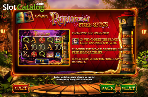 Screen6. Wish Upon a Jackpot (Video Slot from Blueprint)