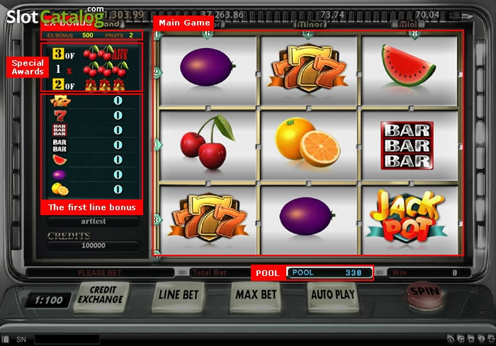 Ігровий автомат гладіатор грати