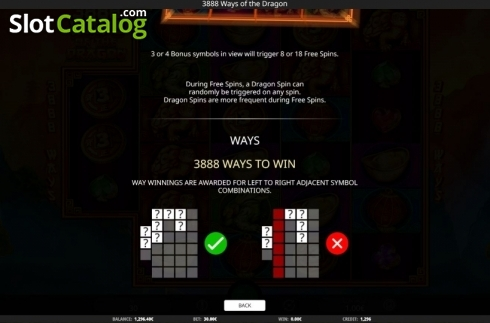 Game Rules. 3888 Ways of the Dragon (Video Slot from iSoftBet)