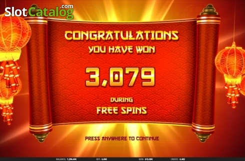 Total Win. 3888 Ways of the Dragon (Video Slot from iSoftBet)