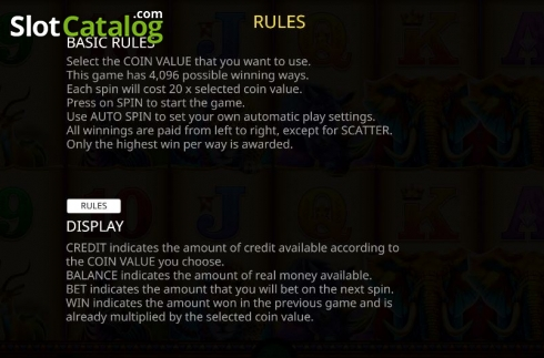 Rules. Jumbo Stampede (Video Slot from iSoftBet)