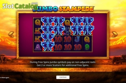 Intro 1. Jumbo Stampede (Video Slot from iSoftBet)