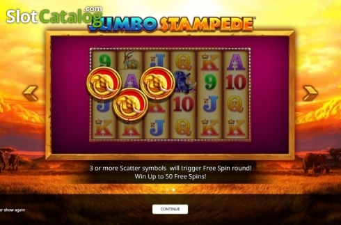Intro 2. Jumbo Stampede (Video Slot from iSoftBet)