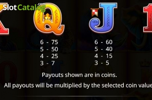 Paytable 2. Jumbo Stampede (Video Slot from iSoftBet)