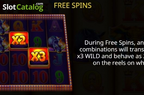 Free Spins 1. Jumbo Stampede (Video Slot from iSoftBet)