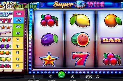 Super diamond deluxe spilleautomat