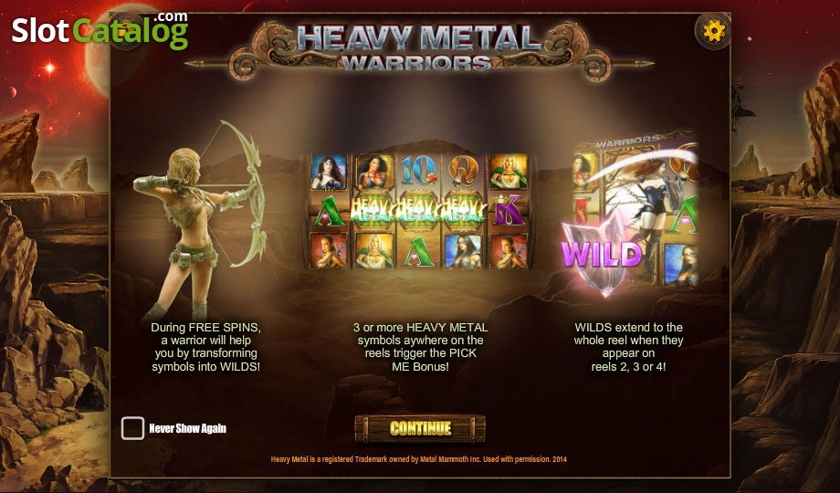 Spiele Heavy Metal Warriors - Video Slots Online