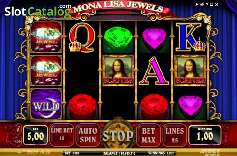 Mona lisa jewels free slots