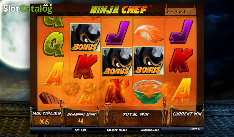 Spiele Ninja Chef - Video Slots Online