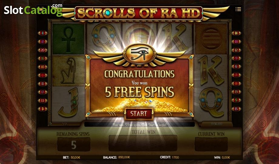 video slot free online bock of ra